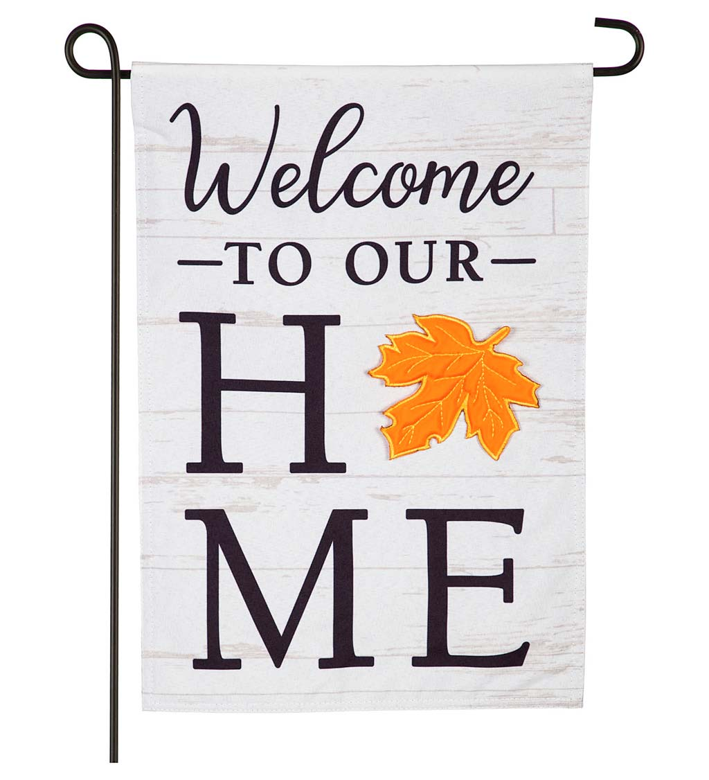 Interchangeable Holiday Welcome Flag