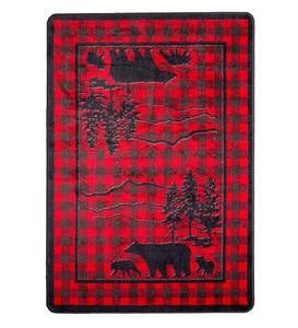 Huntington Bear Buffalo Check EnduraStran Rug