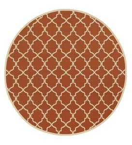 "Tribeca Indoor/Outdoor Rug, 7'10"" Round"