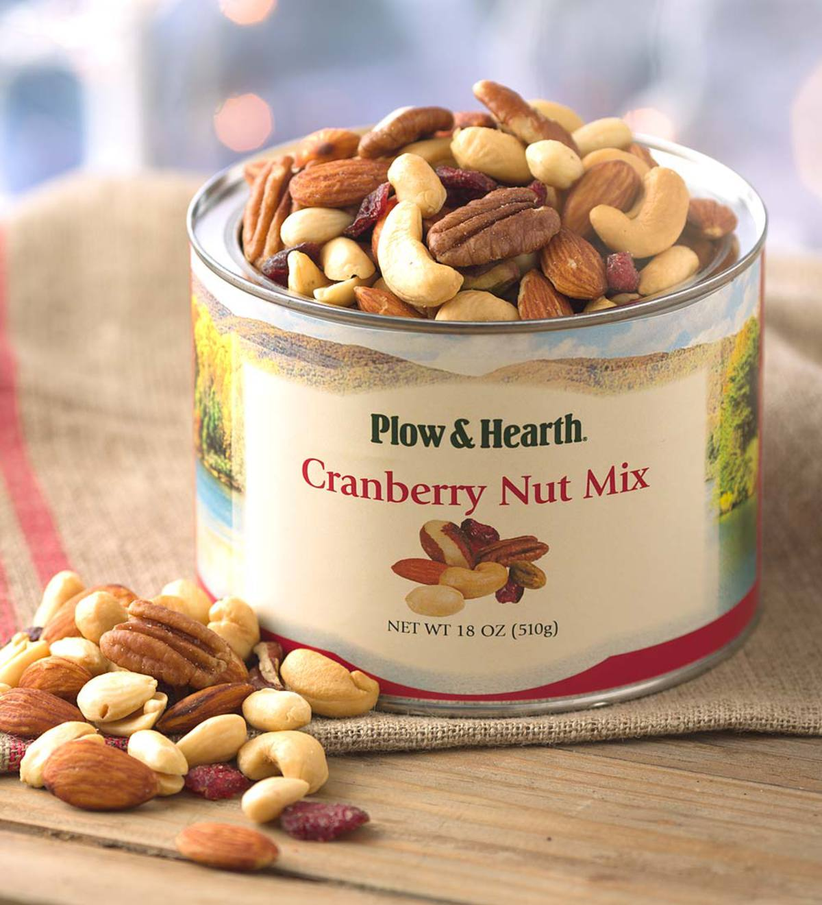 Cranberry Nut Mix, 18 oz. Tin