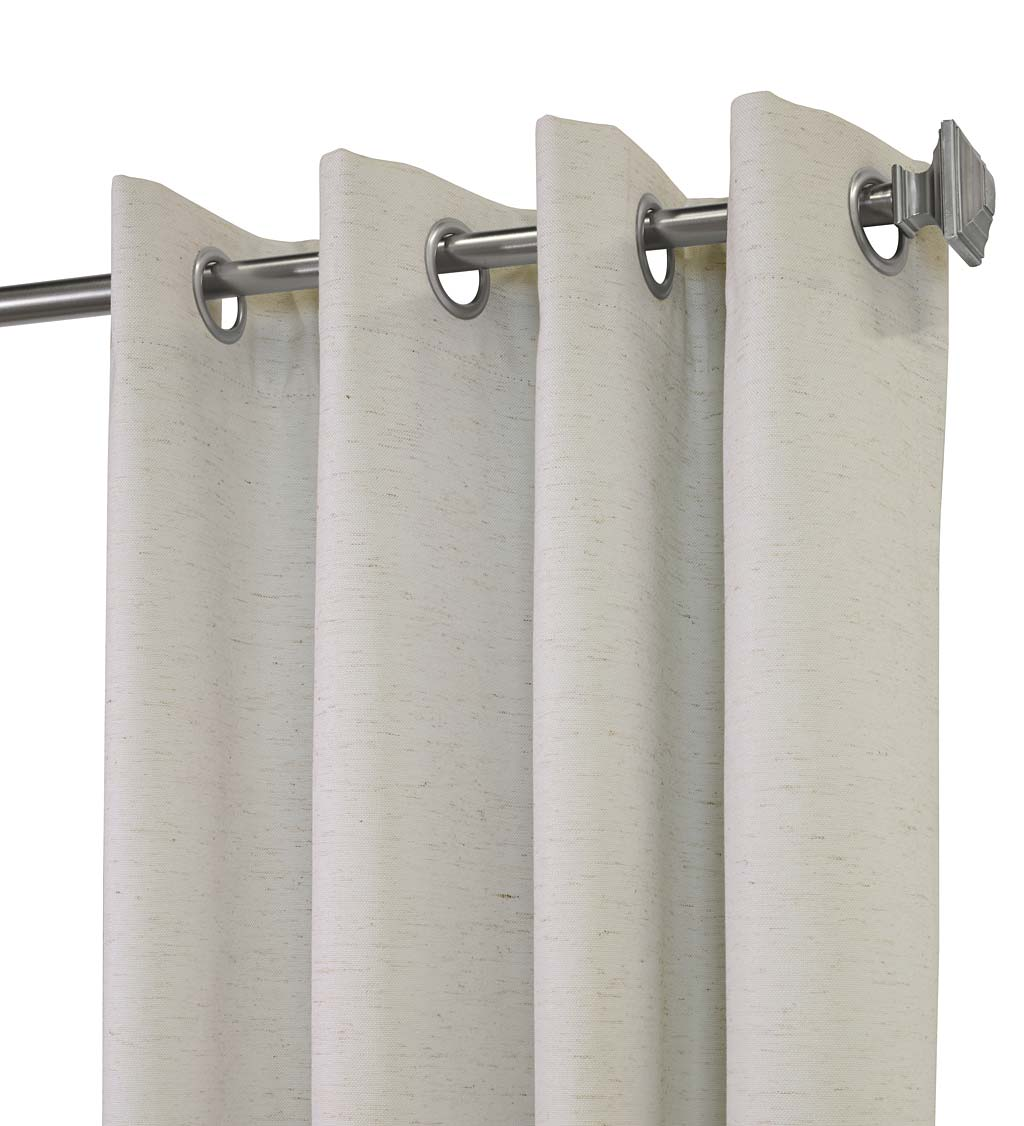 ThermaPlus Slubbed Blackout Curtain Pairs with Grommets