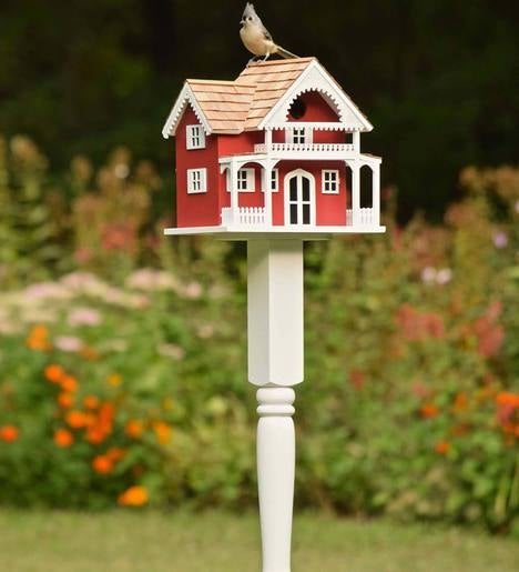 Shelter Island Birdhouse and Pole
