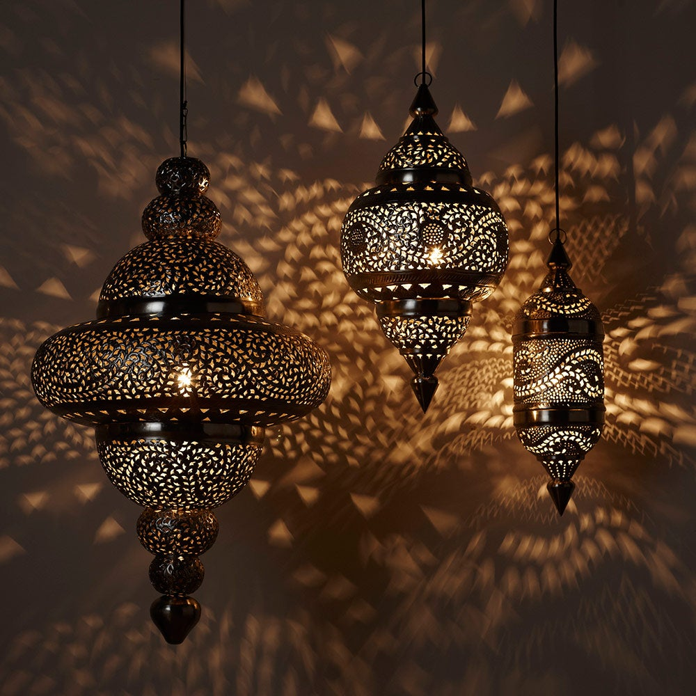 Moroccan Hanging Lamp - Small