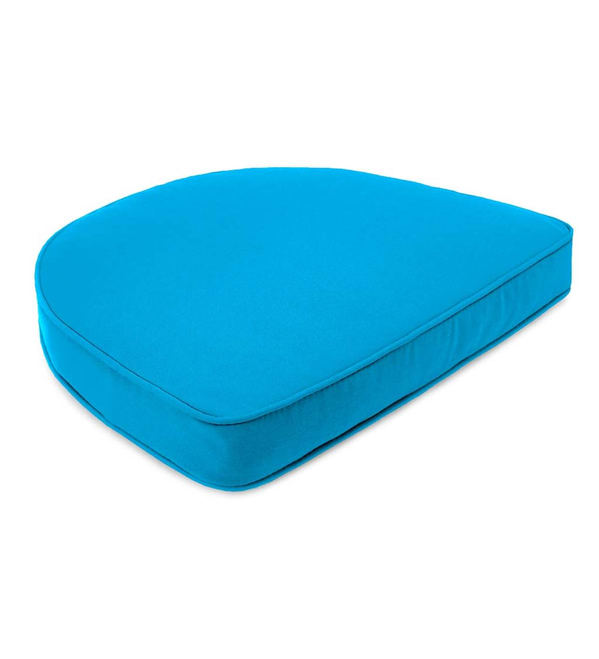 "Sunbrella Deluxe Chair Cushion With Rounded Back, 17½"" x 15½"" x 3"""