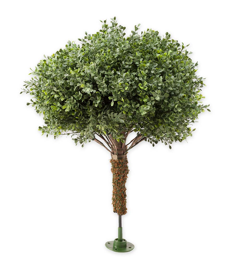 Indoor/Outdoor Faux Boxwood Greenery Accents