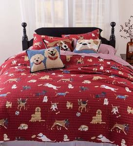 King Dog Park Cotton Quilt Set