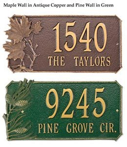 Natural Elements Lawn & Wall Plaques