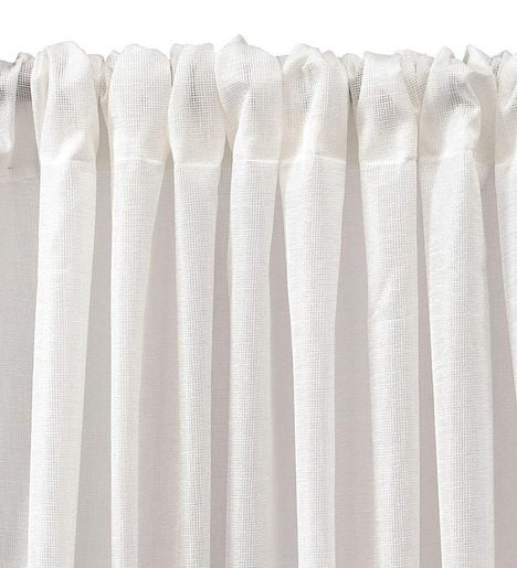 "84""L ThermaSheer™ Insulating Rod-Pocket Semi-Sheer Window Curtain Panel"