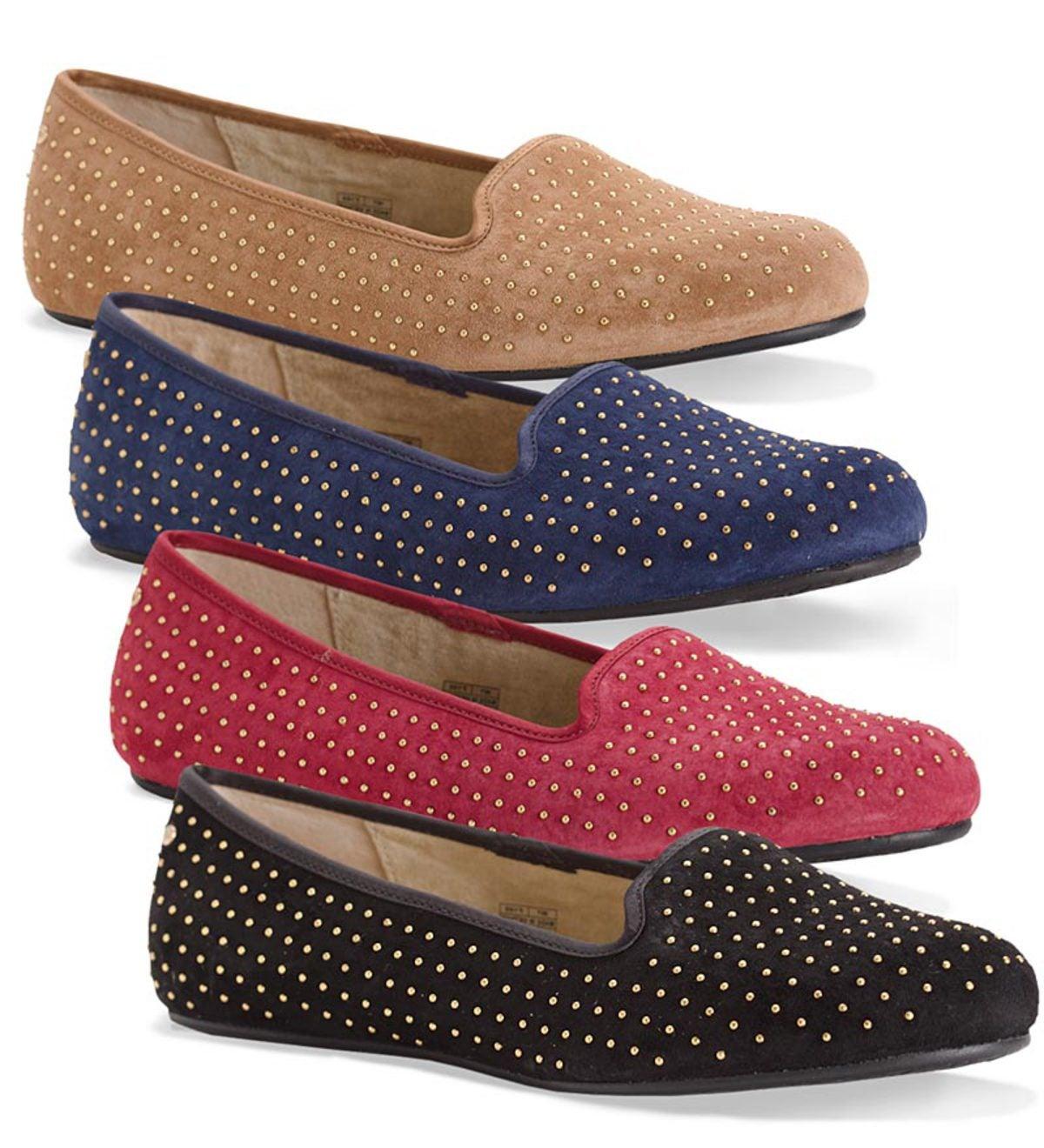 Ugg 174 Australia Women S Alloway Studded Flats Plowhearth