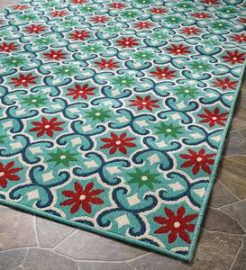 Indoor/Outdoor Lexington Floral Rug