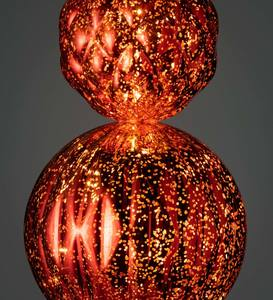Indoor/Outdoor Shatterproof Holiday Lighted Large Finial Ornament Stake