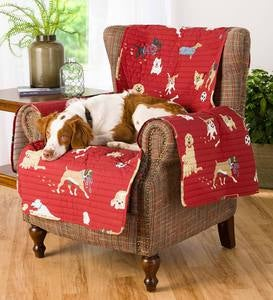 Protective Pet Chair Cover, Dog Park Design