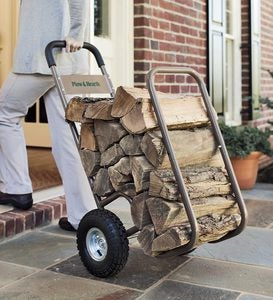 Rolling Log Cart And Optional Vinyl Cover