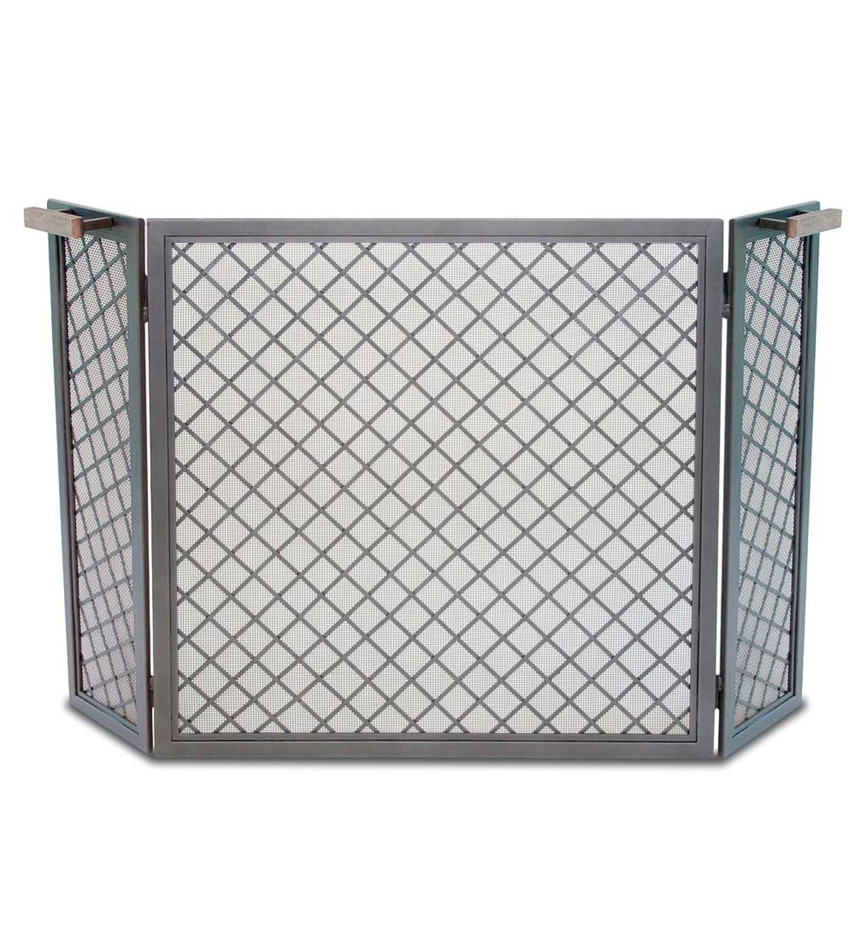 Stanton Tri-Panel Fireplace Screen