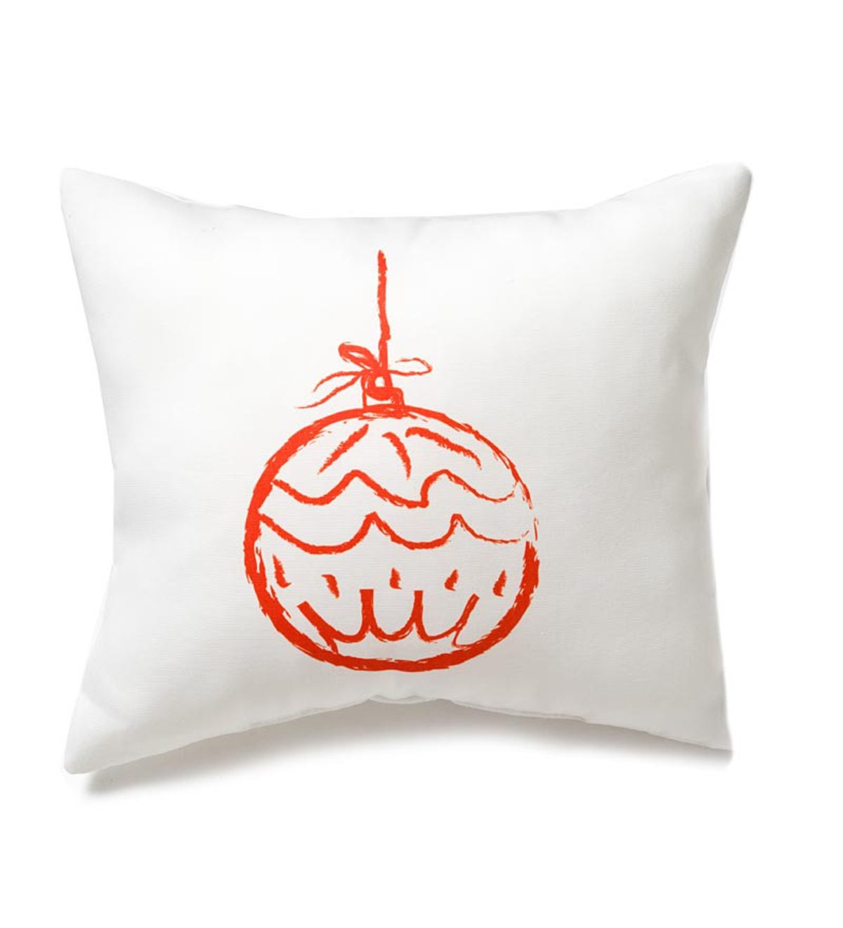Lava Holiday Photo-Printed Accent Pillow