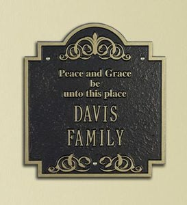 Peace and Grace Plaque