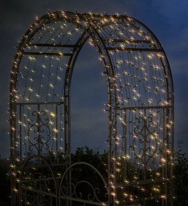 Solar String Lights With White LEDs