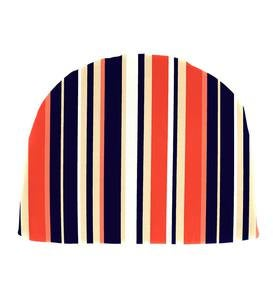 "Sale! Polyester Classic Chair Cushion, 18½""x 18""x 3"" - Midnight Stripe"