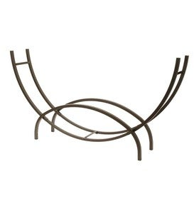 USA-Made Steel Crescent Log Racks