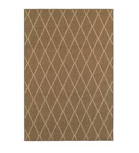 "Indoor/Outdoor Glenville Rug, 7'10""x 10'10"""