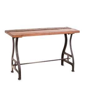 Birmingham Console Table in Reclaimed Wood and Metal