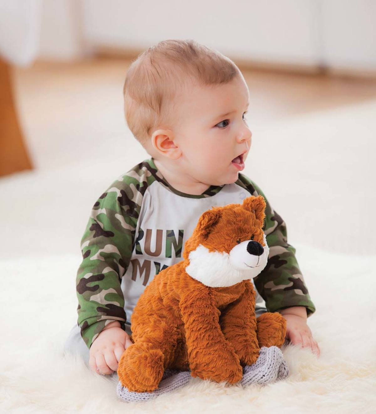 Little Fox Cuddly Plush Stuffed Animal
