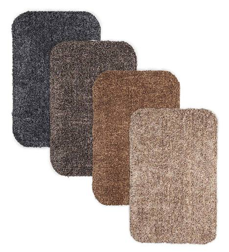 "Large Microfiber Mud Rug With Non-Skid Backing, 29"" x 39"""