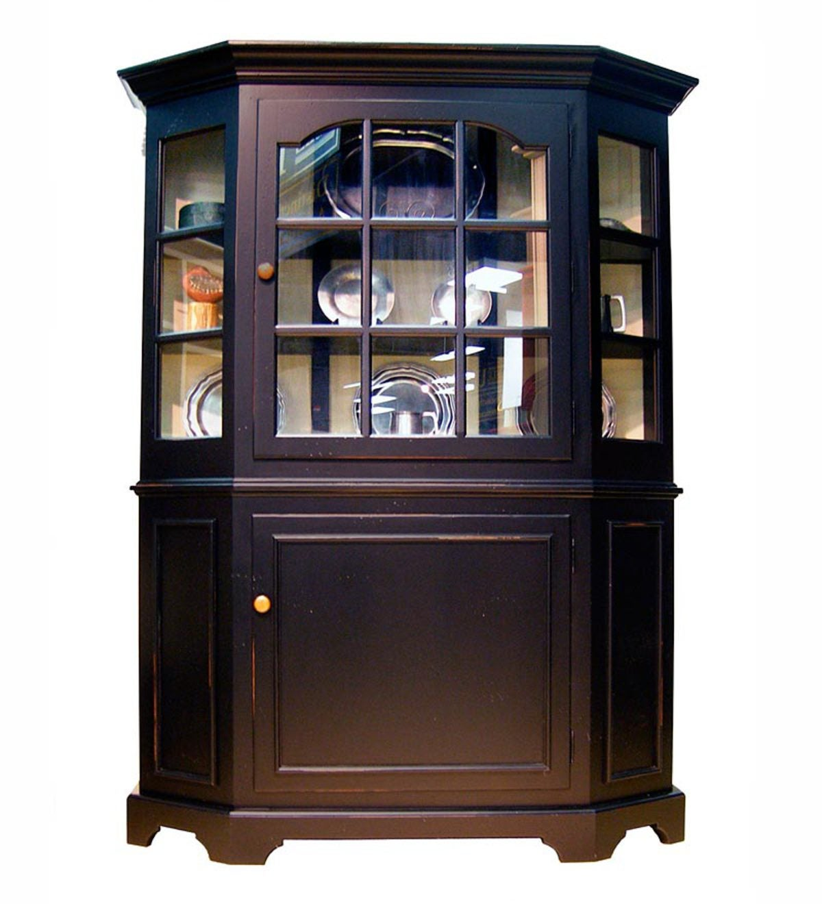 St. Simon's Glass Hutch, Made in USA