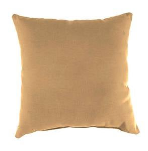 "Sale! Shenandoah Outdoor Throw Pillow, 18""sq. - Sand"