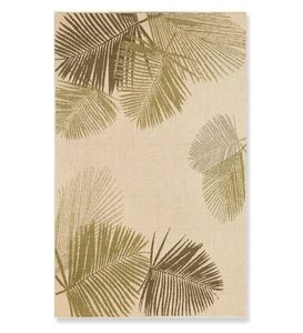 "7'10""square Terrace Palms Indoor/Outdoor Rug - Green"