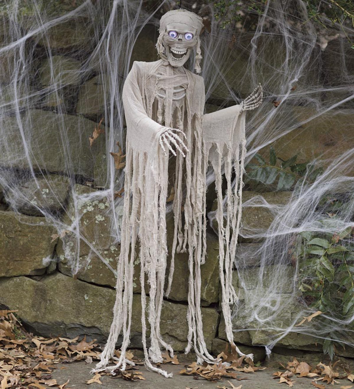 Motion-Activated Halloween Mummy With Sound
