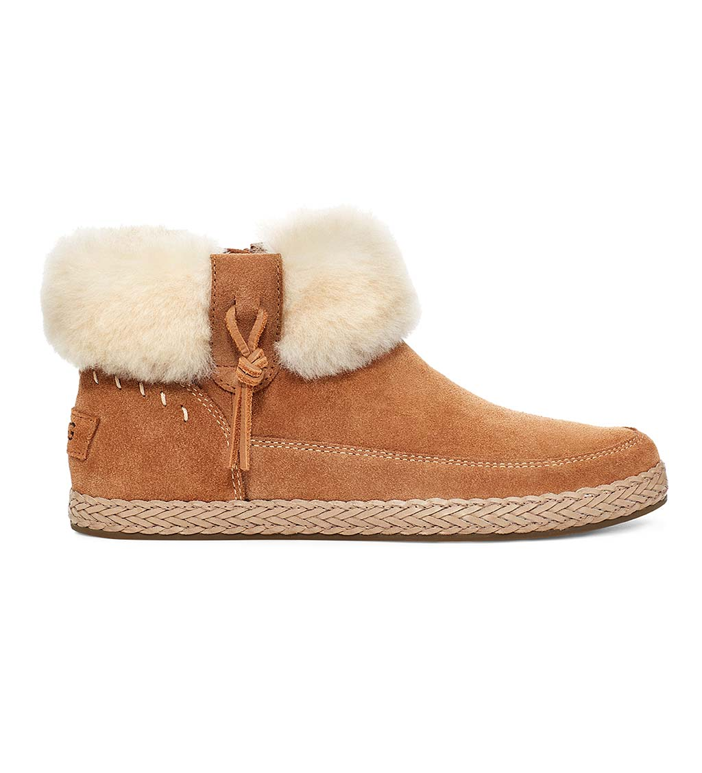 UGG Elowen Suede Ankle Boots