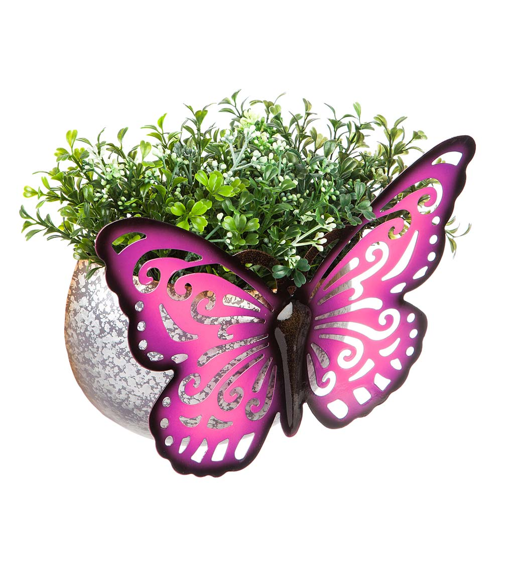 Wall Mounted Butterfly Planter