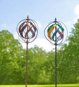 Hydro Wind Spinner and Sprinkler