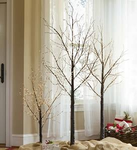 Indoor/Outdoor Birch Tree with Micro Lights