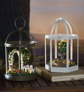 Lighted Mini Conservatory