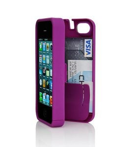 4/4S EYN All-in-One Wallet/iPhone Case - Turquoise