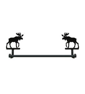USA-Made Wrought Iron Large Decorative Towel Bar