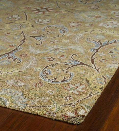 Meadow Fern Wool Rug, 2' x 3'