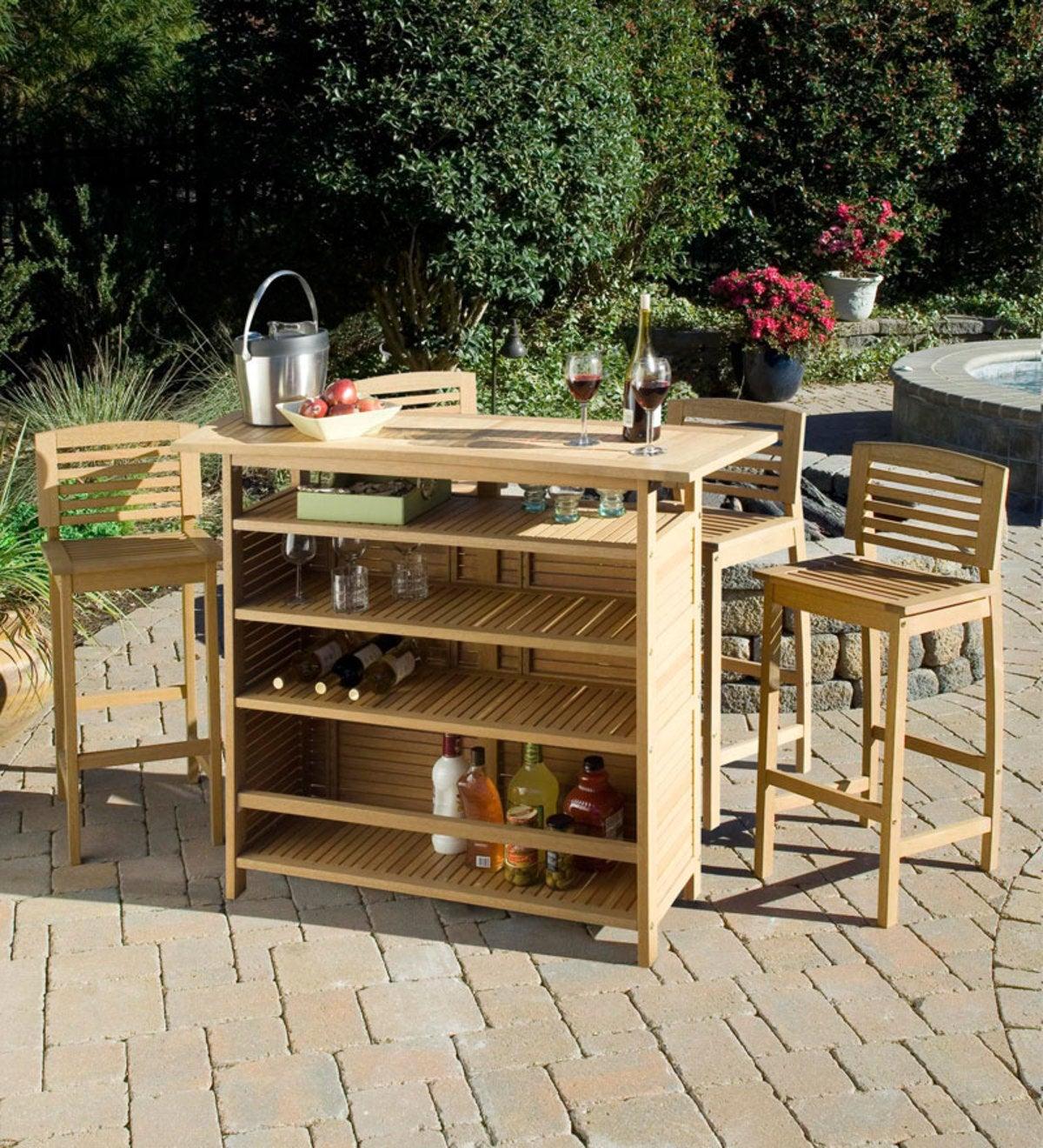decorative indoor firewood rack outdoor fireplace wood.htm shorea wood bali hai outdoor bar cabinet plus 4 stools in a  shorea wood bali hai outdoor bar