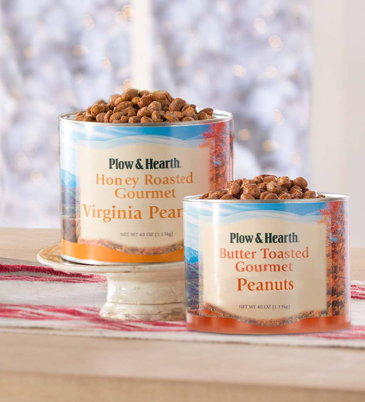 Flavored Extra Large Virginia Peanuts, 40 oz. Tin