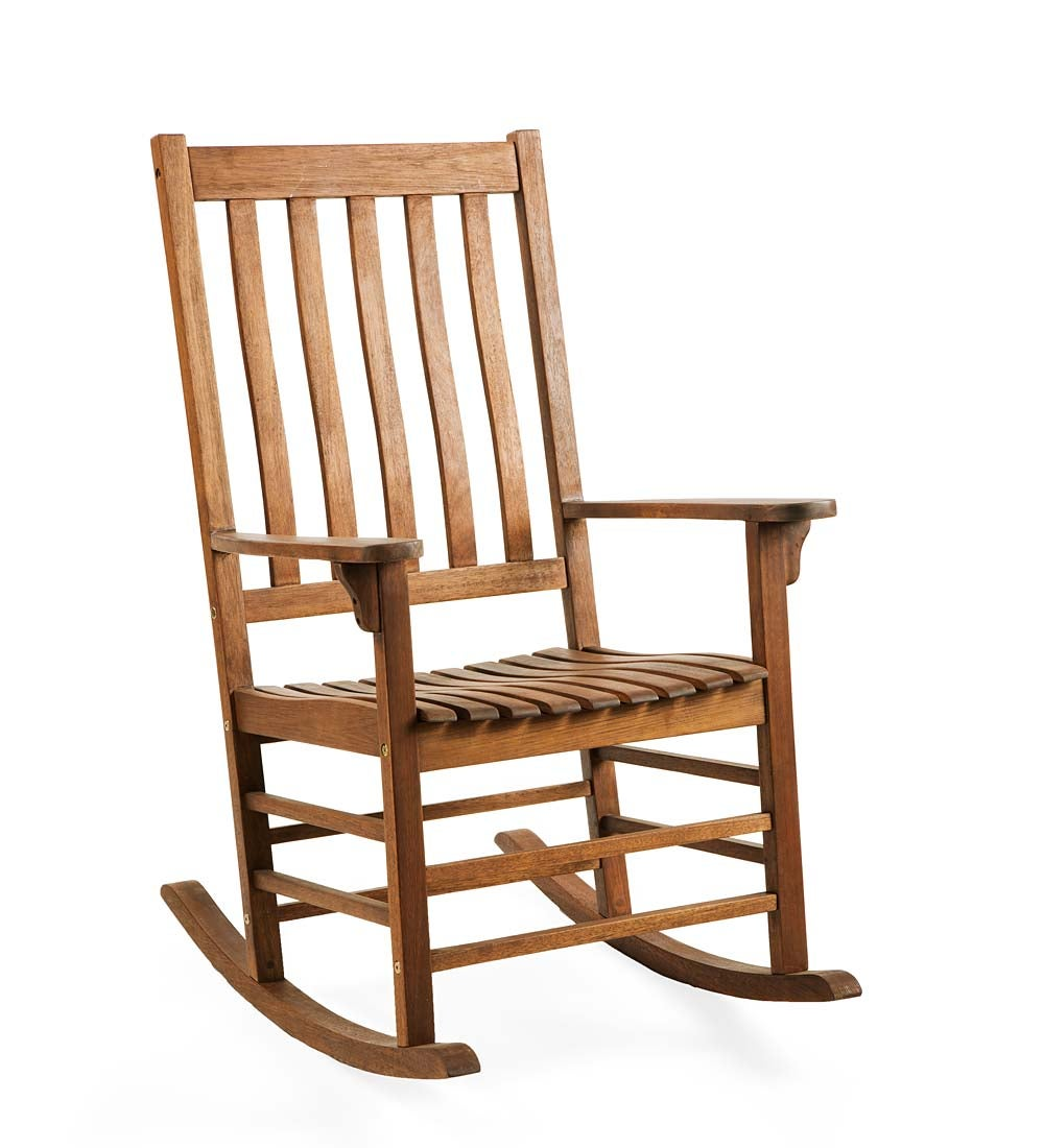 Slatted Wood Rocker