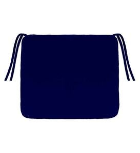 "Polyester Classic Chair Cushions with Ties, 18½""x 16½""x 3"""