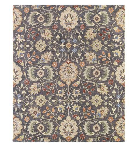 Meadow Wildflower Wool Rug, 10' x 14'