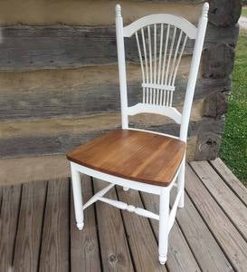 Sheaf Back Wood Side Chair