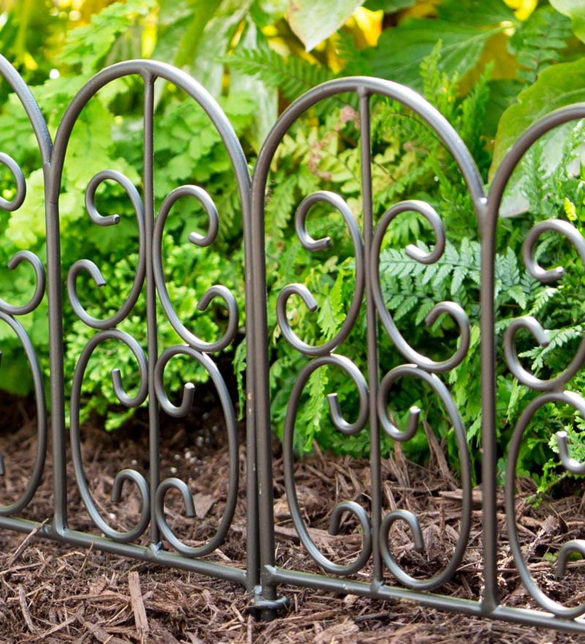Genial Montebello Iron Garden Edging
