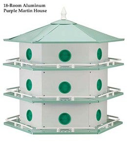 12 Room Martin House & Pole Set