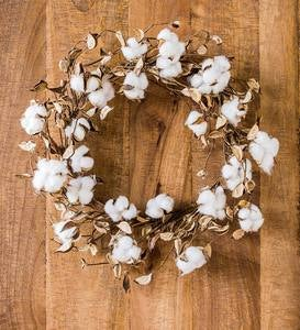 Decorative Cotton Wreath