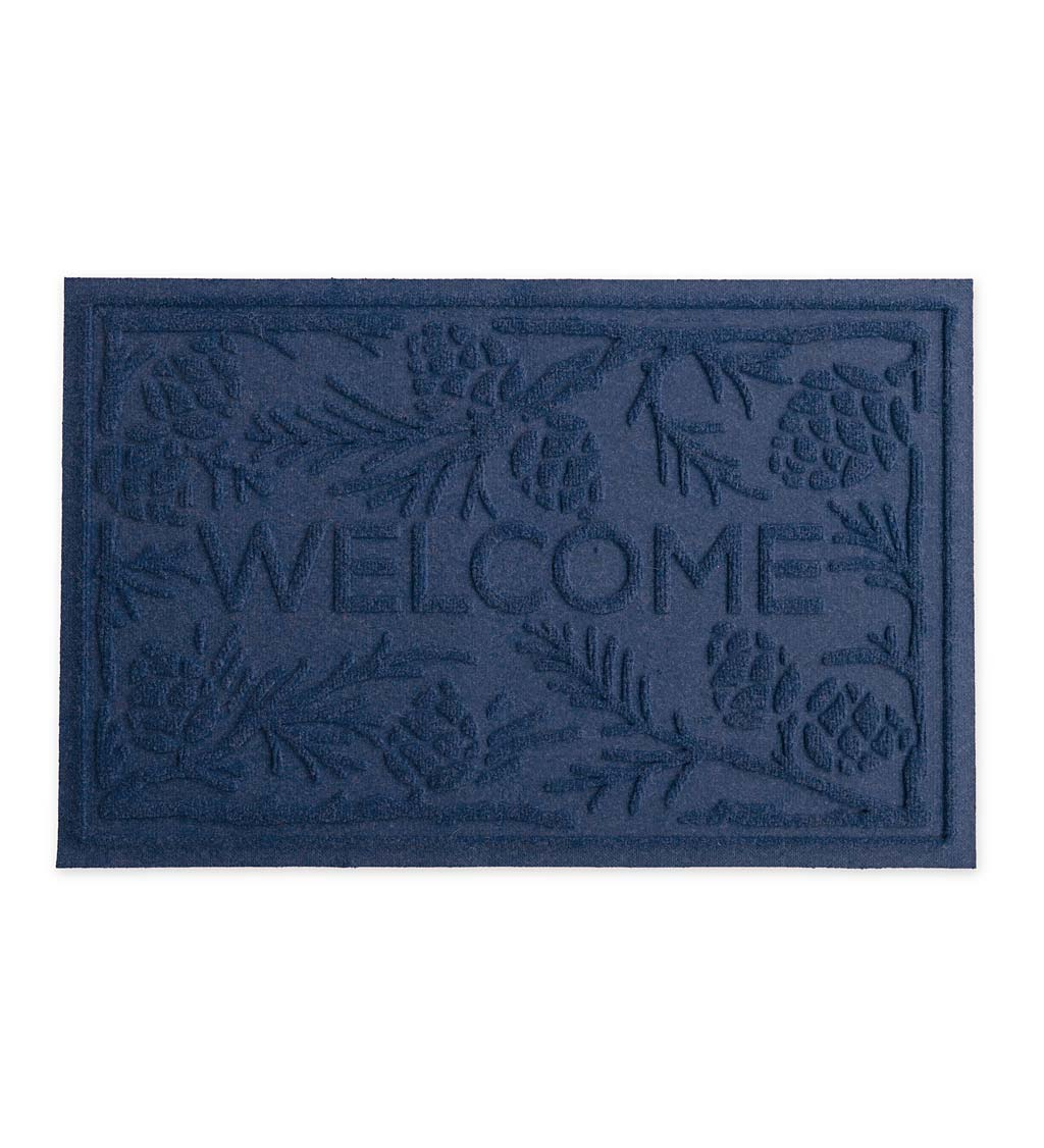 Waterhog Pine Welcome Doormat, 2' x 3' swatch image