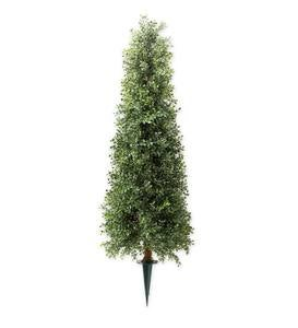 Faux Boxwood Topiary Cone, 30""